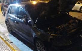 SESTU, In fiamme l'auto del Comandante della Stazione dei Carabinieri