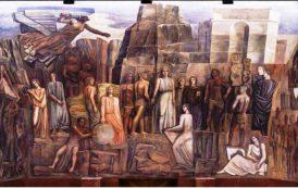 ROMA, Il restauro scopre che sotto il murale del pittore sassarese Sironi c'è Mussolini