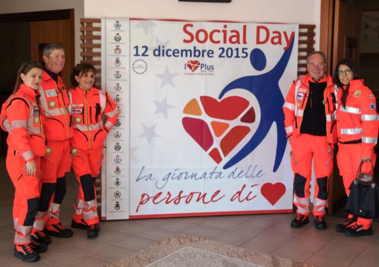 VOLONTARIATO, Social Day 2015: i Comuni celebrano persone ed associazioni per la loro attività