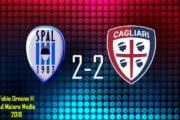 CALCIO, Rimonta da applausi con Pavoletti e Ionita: Spal-Cagliari 2-2