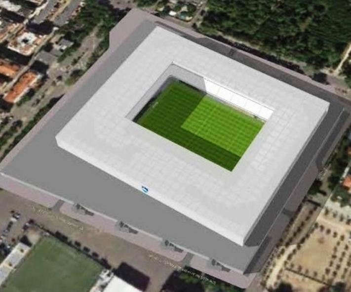 CAGLIARI, Presentato dal Cagliari Calcio al Comune il progetto del nuovo Stadio: 25.000 posti al coperto