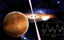 SCIENZA,Scoperta con supporto degli astrofisici dell'Universita' di Cagliari: raffiche di luce dalla pulsar al millisecondo