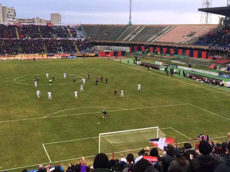 """CALCIO, Il Cagliari visto da un tifoso della Curva: """"Un pomeriggio di sofferenza"""""""