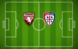 CALCIO, Cagliari punito dalla sua difesa: il Torino respira (2-1)