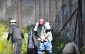 CAGLIARI, Ancora eroina nel Colle di San Michele, regno dei tossicodipendenti (VIDEO)