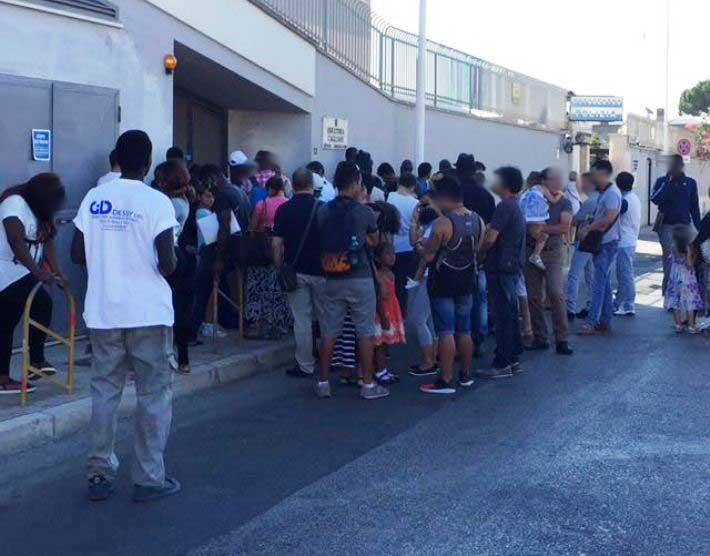 Ufficio Passaporti Questura Di Cagliari : Cagliari nigeriano aggredisce poliziotto in via venturi sap u cda