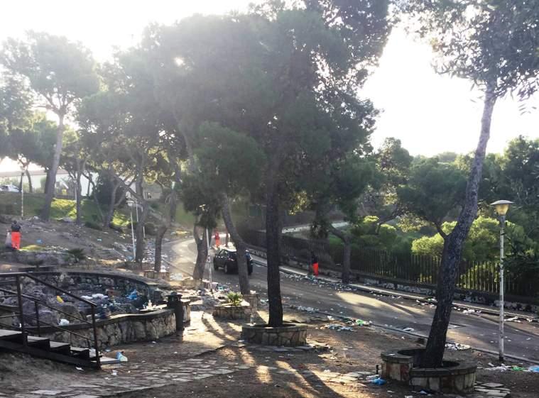 """CAGLIARI, Deidda (FdI): """"Viale Fra Ignazio invasa dai rifiuti dell'ennesima festa 'Bottelòn'. Città senza controllo"""""""