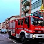 CAGLIARI, Incendio in un appartamento di via Corsica
