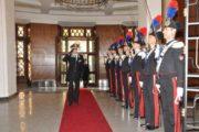 SARDEGNA, Visita del Comandante generale dell'arma dei carabinieri Tullio Del Sette