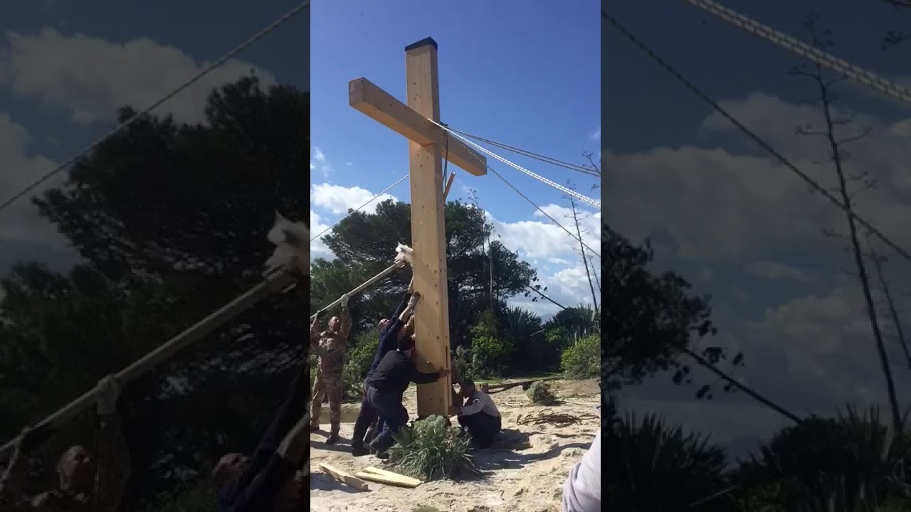 CAGLIARI, Torna sulla Sella del Diavolo la 'croce rimossa' (VIDEO)