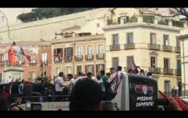 CALCIO, La festa del Cagliari per la Serie A