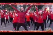 Il VIDEO del flash mob natalizio a Sanluri