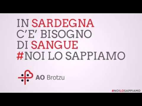 Il VIDEO della campagna di sensibilizzazione alla donazione di sangue in Sardegna