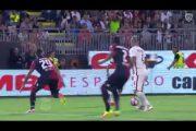 Le azioni principali ed i gol di Cagliari-Roma