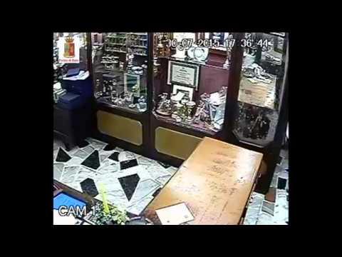 SASSARI, individuati i responsabili della rapina alla gioielleria Puggioni