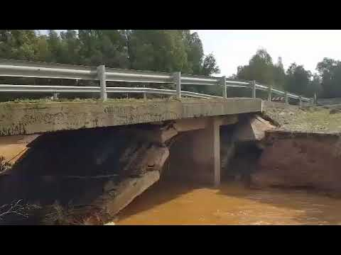 UTA, Dopo la denuncia di un cittadino Protezione civile presidia ponte sul rio Coccodi (VIDEO)
