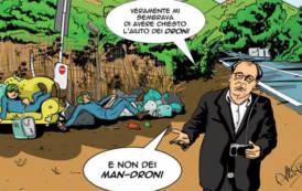 SARRABUS, Droni, barracelli e polizia locale, è guerra ai furbetti dei rifiuti