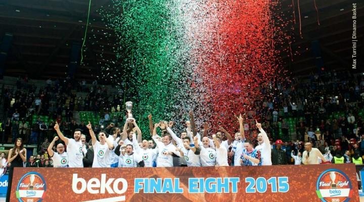 PALLACANESTRO, Il sogno della Dinamo Sassari continua, prossimo obiettivo play off per lo Scudetto