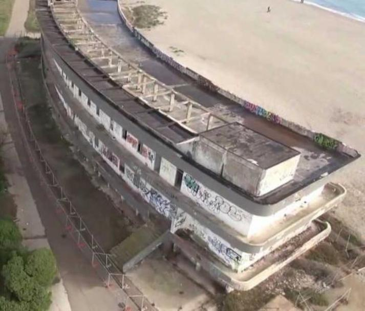 La Scuola di vela più grande del Mediterraneo all'ex Ospedale Marino di Cagliari (Sergio Diana)