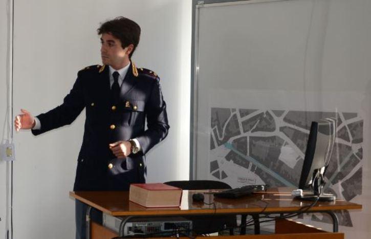 """ORISTANO, La """"Giornata della legalità"""" al Liceo de Castro, organizzata dall'Istituto con la collaborazione della Questura"""