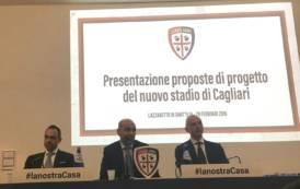 CALCIO, Presentati i progetti per lo stadio futuro del Cagliari