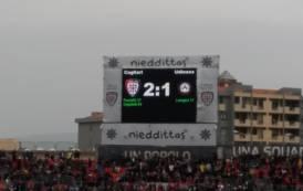 CALCIO, Vittoria scacciafantasmi per il Cagliari: Udinese ko (2-1)
