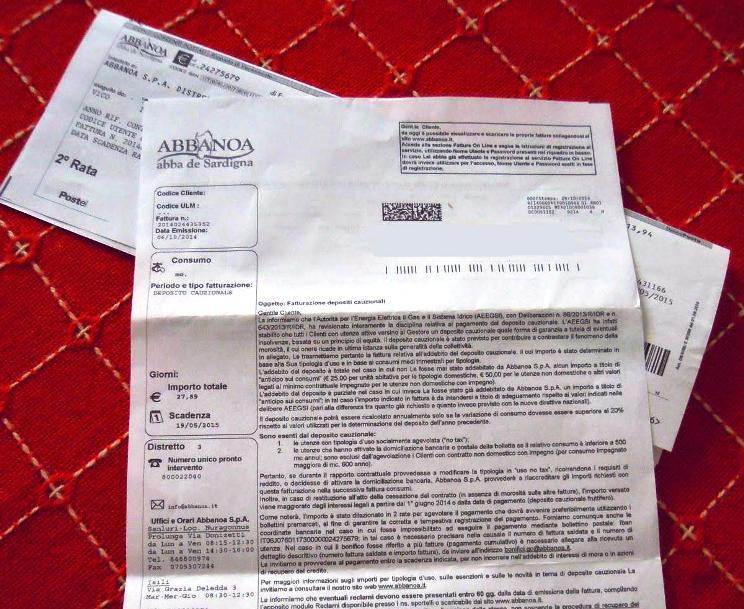 ABBANOA, Autorizzazione del ministero al pignoramento dei conti correnti
