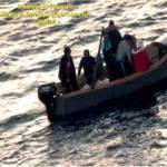 TEULADA, Intercettati a Capo Teulada 4 barche con 46 algerini