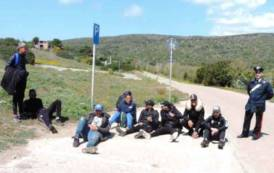 SANT'ANTIOCO, Sbarco di 8 clandestini algerini nella spiaggia di Turri