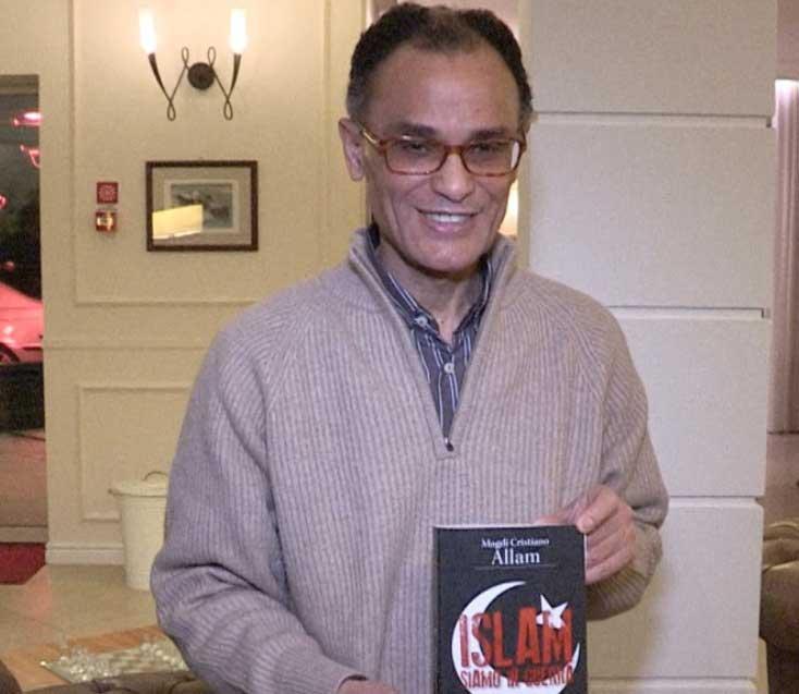 """QUARTU S'ELENA, Sabato 19 Magdi Allam presenta il suo libro """"Islam. Siamo in guerra"""""""