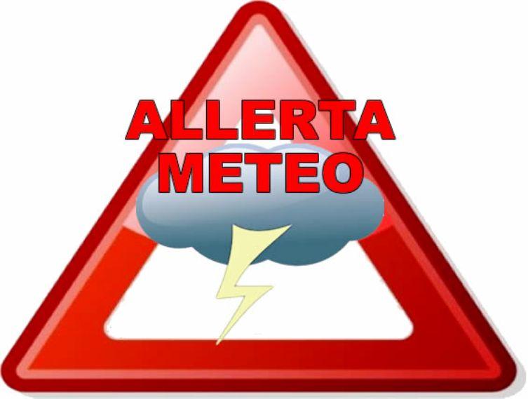 METEO, Avviso di condizioni meteorologiche avverse valido fino alle 21 di domani