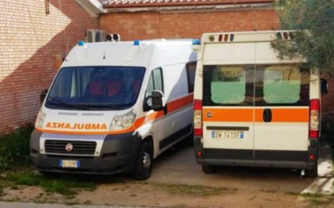 MURAVERA, Ferme ai 'box' per guasto le ambulanze 'riciclate' dalla Val d'Aosta per l'ospedale San Marcellino