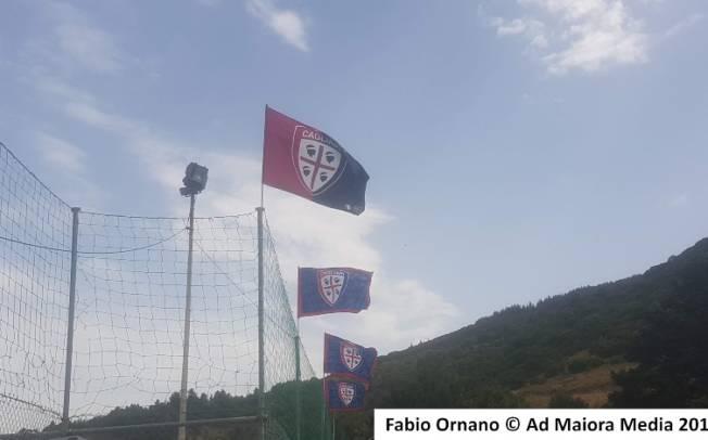 CALCIO, L'allenamento pomeridiano del Cagliari ad Aritzo
