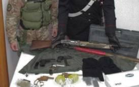 SIURGUS DONIGALA, Fucili, pistole e droga a casa di un allevatore: arrestato coi due figli