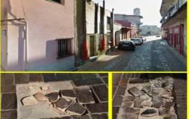 ASSEMINI, Viabilità pericolosa nel centro storico: buche e pavimentazione danneggiata