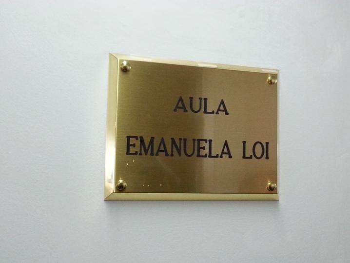 ORISTANO, Aula di aggiornamento della Questura intitolata all'agente Emanuela Loi