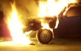 CAGLIARI, Due auto in fiamme, coinvolta anche la Porsche di Daniele Conti