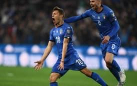 CALCIO, Barella in gol da migliore in campo contro la Finlandia