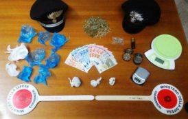 BARISARDO, Trovato in possesso di 30 grammi di marijuana: denunciato 21enne di Lanusei