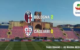 CALCIO, Retromarcia inserita a Bologna: Cagliari battuto (2-0)