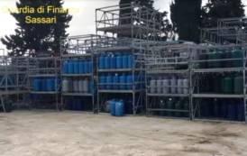 SASSARI, Sequestrate oltre 3.400 bombole di gpl e due aree di stoccaggio: denunciate due persone (VIDEO)