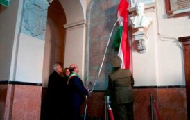 SASSARI, Scoperta la lapide restaurata che celebra doppia medaglia d'oro al valore della Brigata Sassari