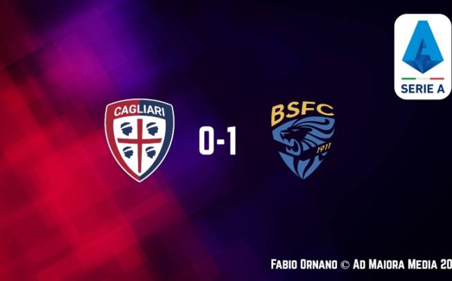 CALCIO, Cagliari: così non va! Brescia vittorioso (0-1), paura Pavoletti