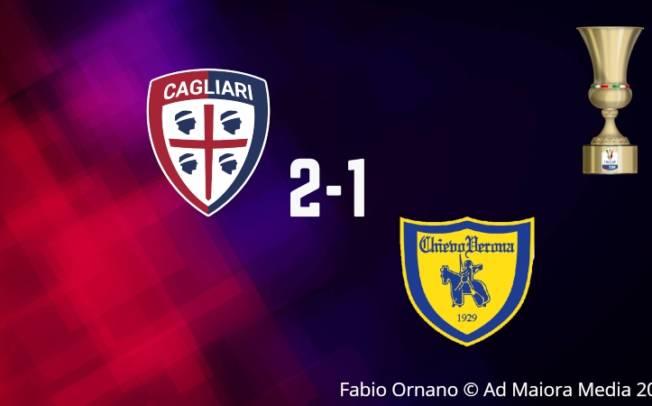 CALCIO, João Pedro-Rog bomber di Coppa: Cagliari-Chievo 2-1