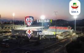 CALCIO, Tre punti fondamentali: Cagliari-Fiorentina 2-1