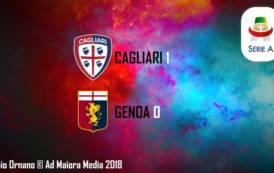 CALCIO, Cagliari: bentornata vittoria! Genoa ko (1-0) e scavalcato