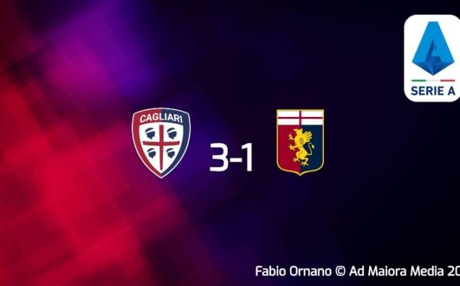 CALCIO, Cagliari: altri tre punti. Genoa battuto (3-1) in modo convincente