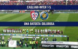 CALCIO, Inter padrona del Sant'Elia: il Cagliari prima regge, poi crolla miseramente. Un 5-1 doloroso