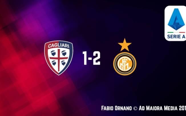 CALCIO, Cagliari vivo: ma non basta. Con l'Inter secondo ko di fila (1-2)