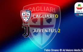 CALCIO, Recita deludente, fortino violato: Cagliari-Juventus 0-2